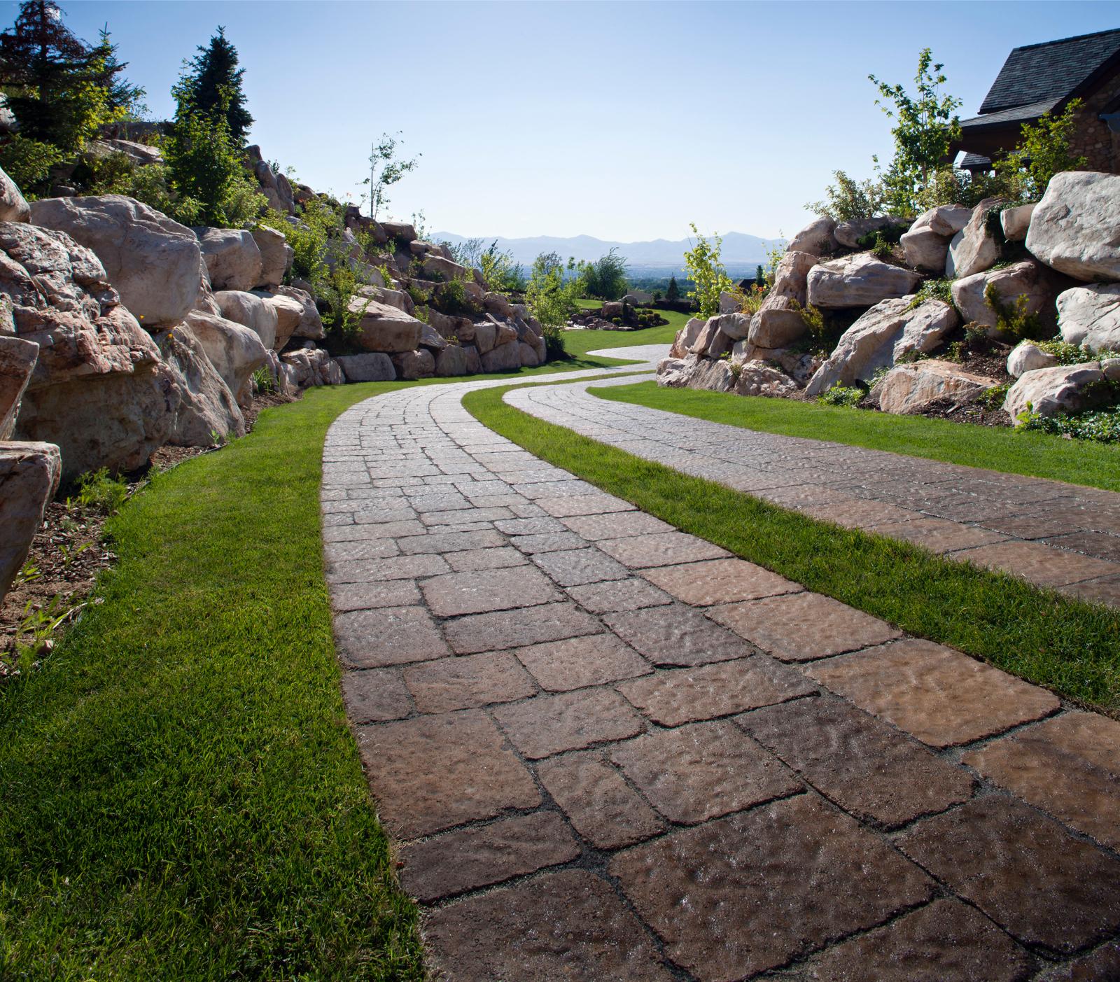 Belgard Mega Bergerac Driveway