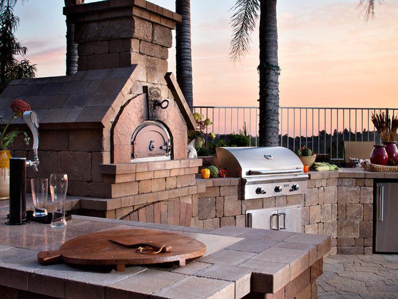 Belgard Brick Oven - Paver Outdoor Elements