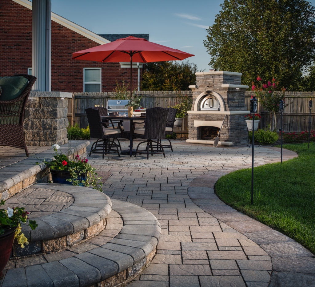 Delightful ... Belgard Pavers Bordeaux Outdoor Elements ...