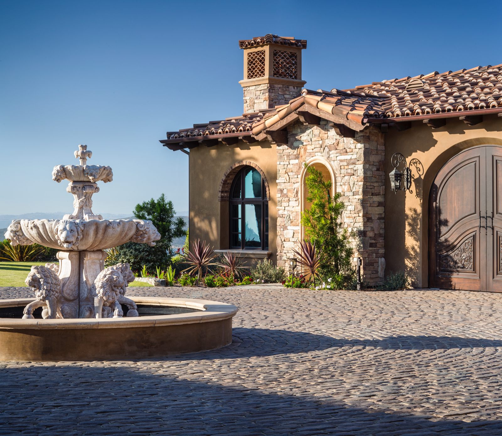 Belgard Old World Cobble Paver Driveway