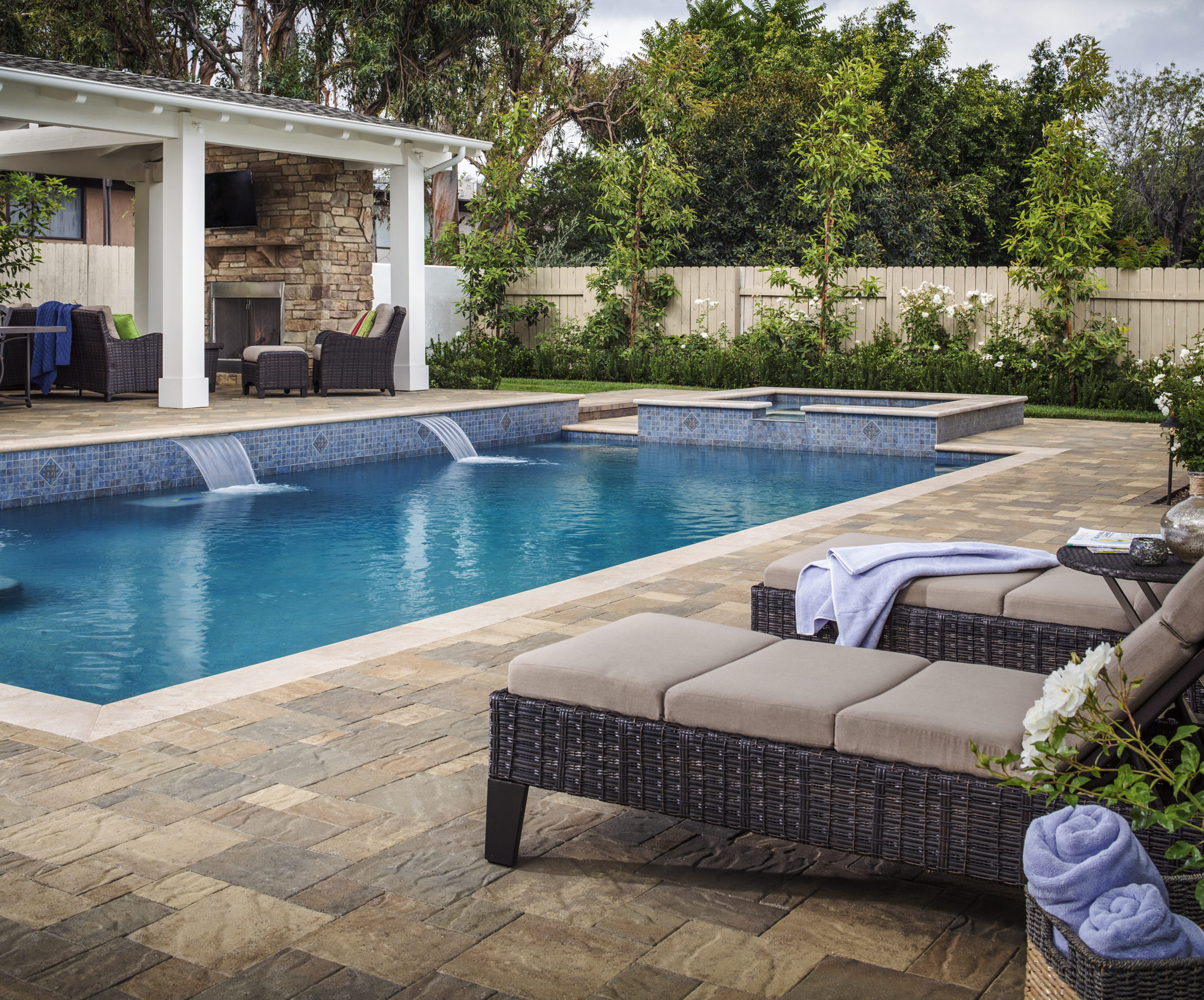 Catalina slate pavers 4 less for Western pool show 2015