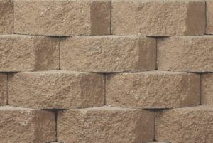 Belgard Wall Paver Anchor Diamond 9D in Sandstone